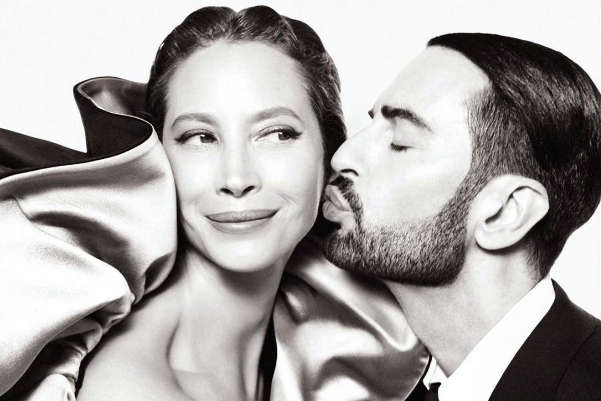Marc Jacobs Teases Fall 2019 Ad Campaign with Christy Turlington & Himself by Steven Meisel