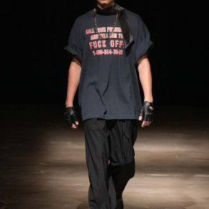 Willy Chavarria Men's Spring 2020 Fashion Show