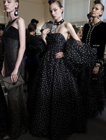 Giorgio Armani Prive Couture Fall 2019 Fashion Show Backstage