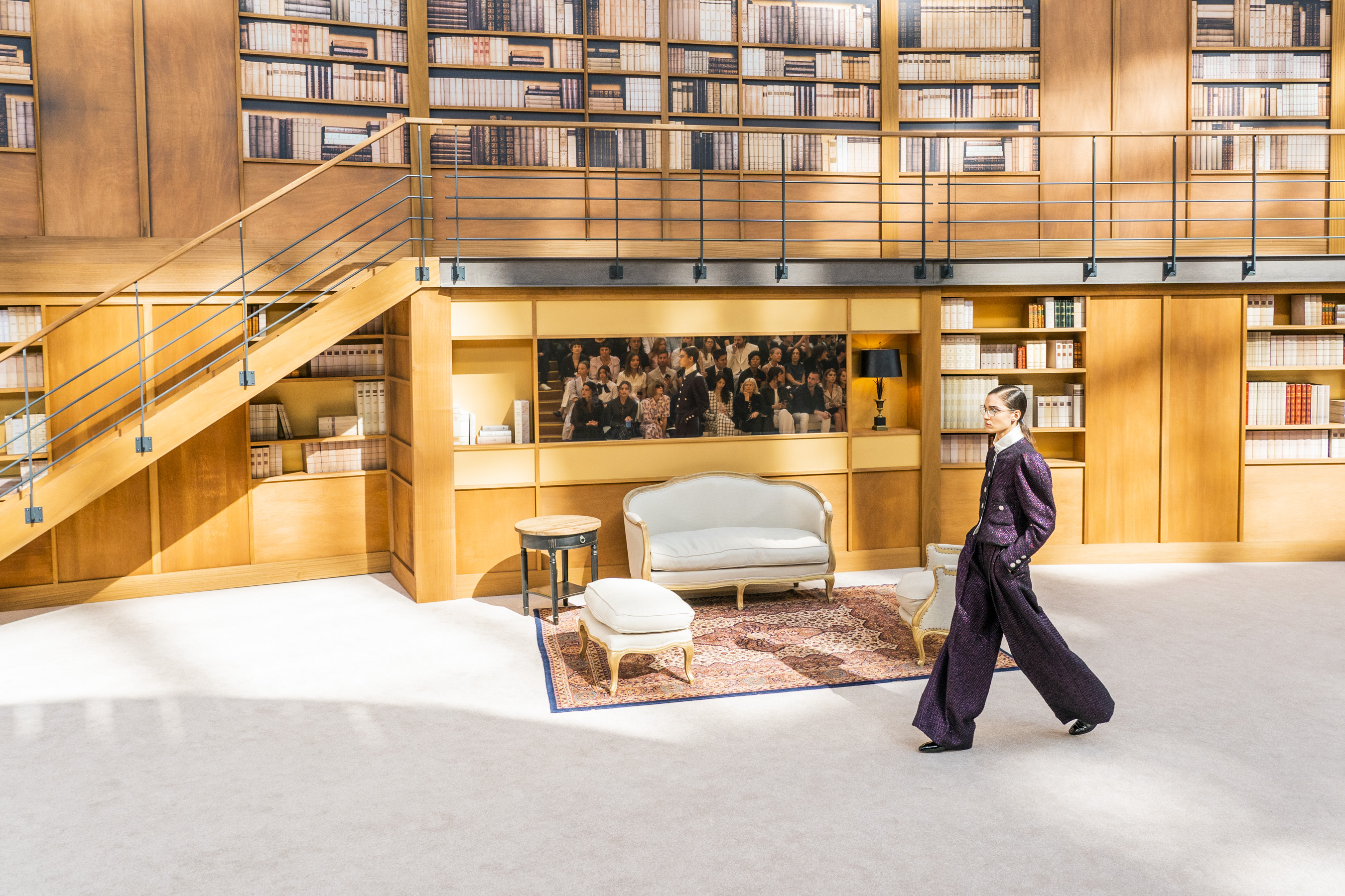 Chanel Couture Fall 2019 Fashion Show Atmosphere