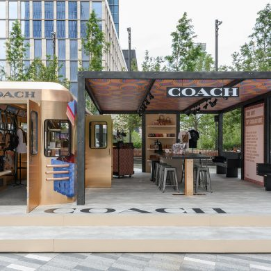 Coach Launches Subway-Car-Inspired Pop-Up at Hudson Yards