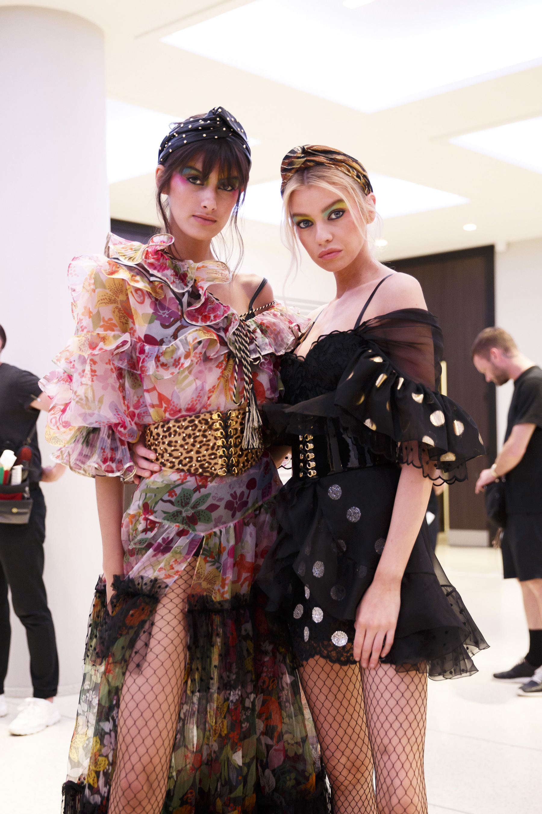 Dundas Couture Fall 2019 Fashion Show Backstage