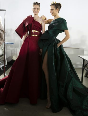 Elie Saab Couture Fall 2019 Fashion Show Backstage