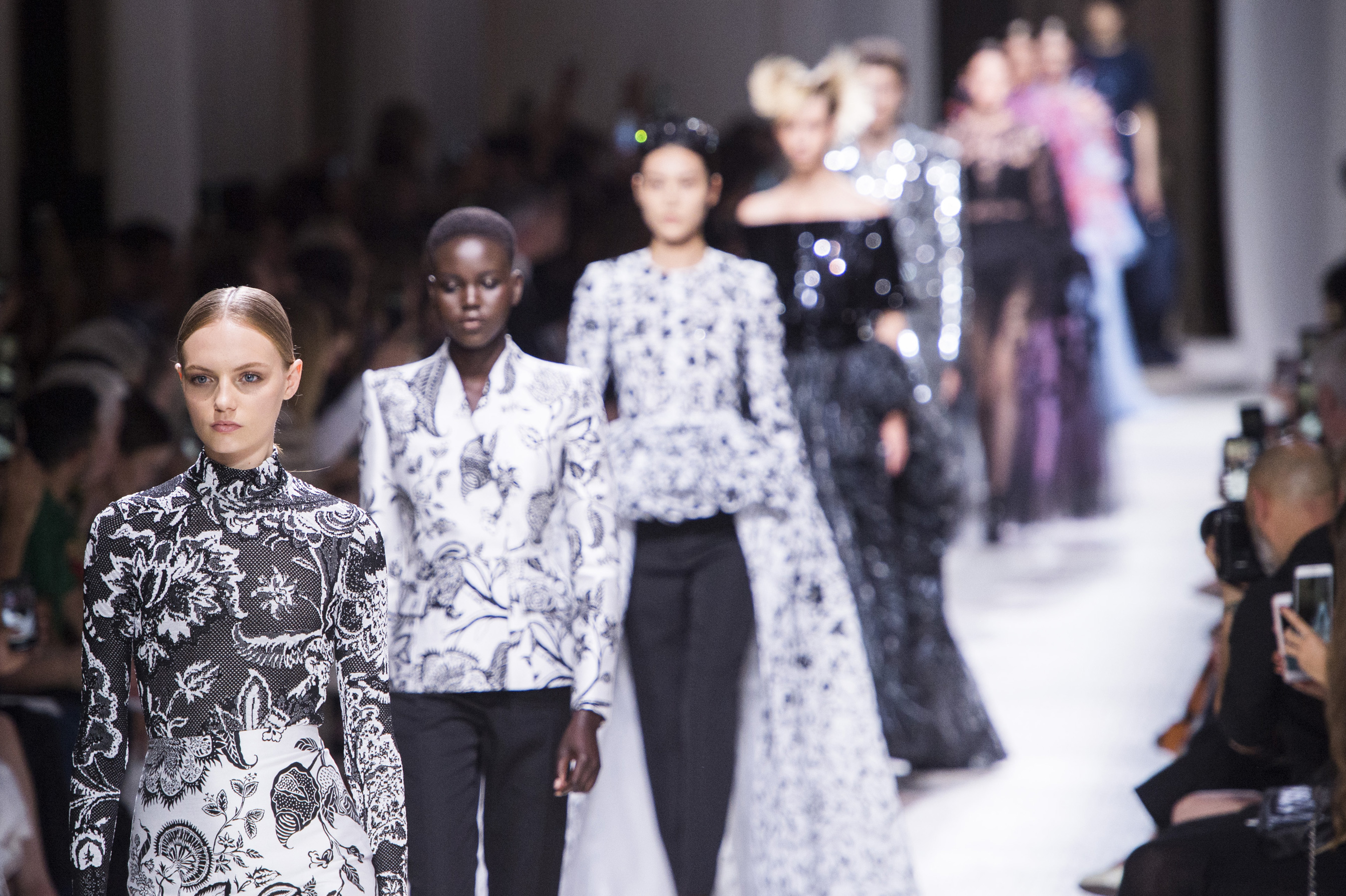 Givenchy Couture Fall 2019 Fashion Show Atmosphere