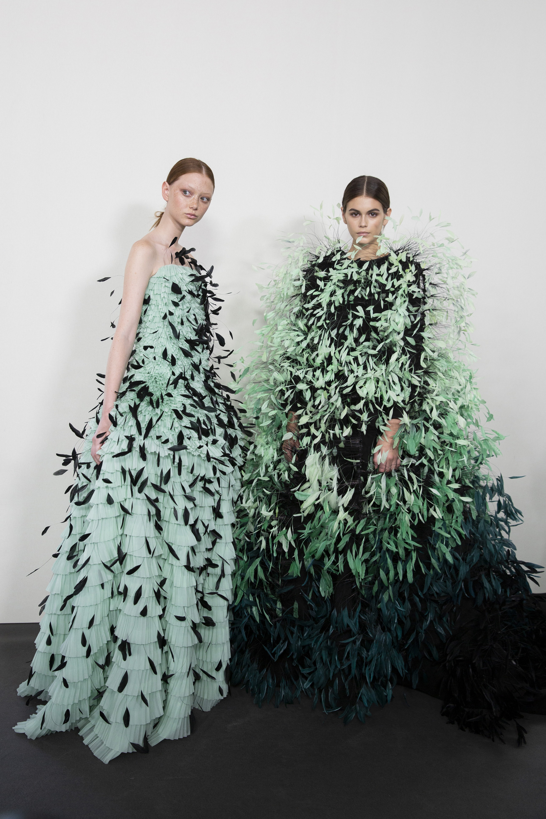 Givenchy Couture Fall 2019 Fashion Show Backstage