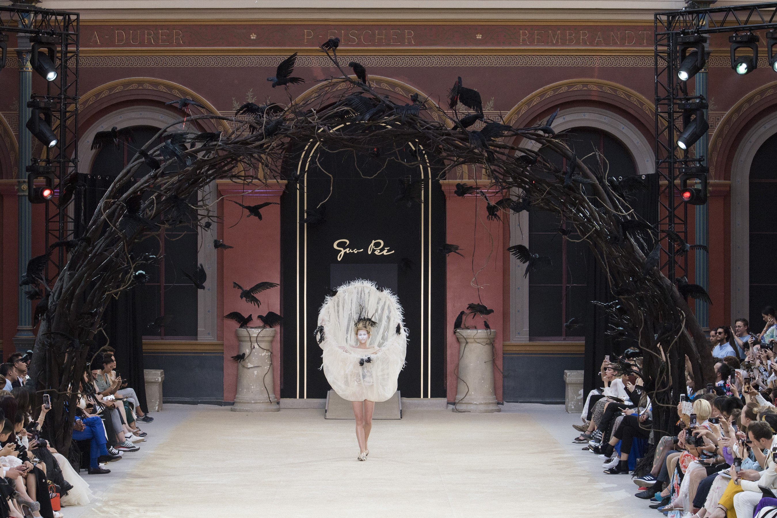 Guo Pei Couture Fall 2019 Fashion Show Atmosphere