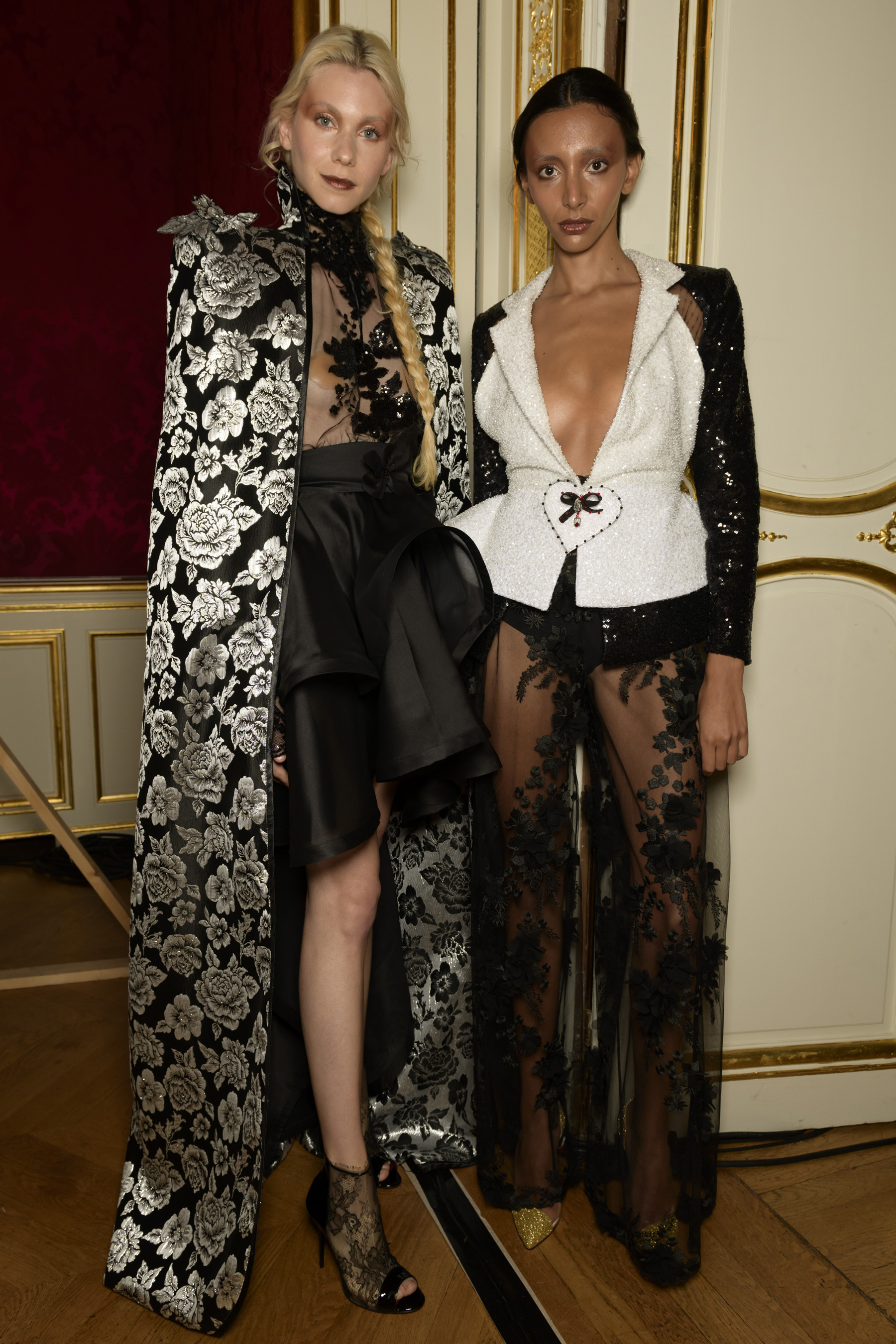 Madleine Couture Fall 2019 Fashion Show Backstage