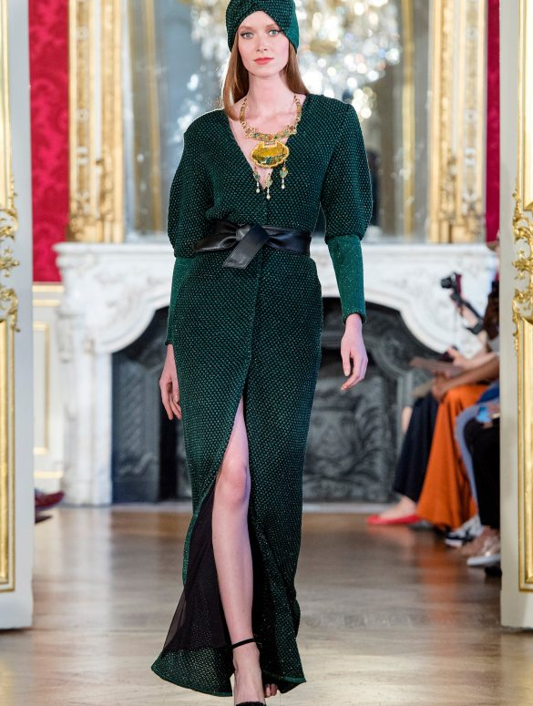 Maria Aristidou Couture Fall 2019 Fashion Show