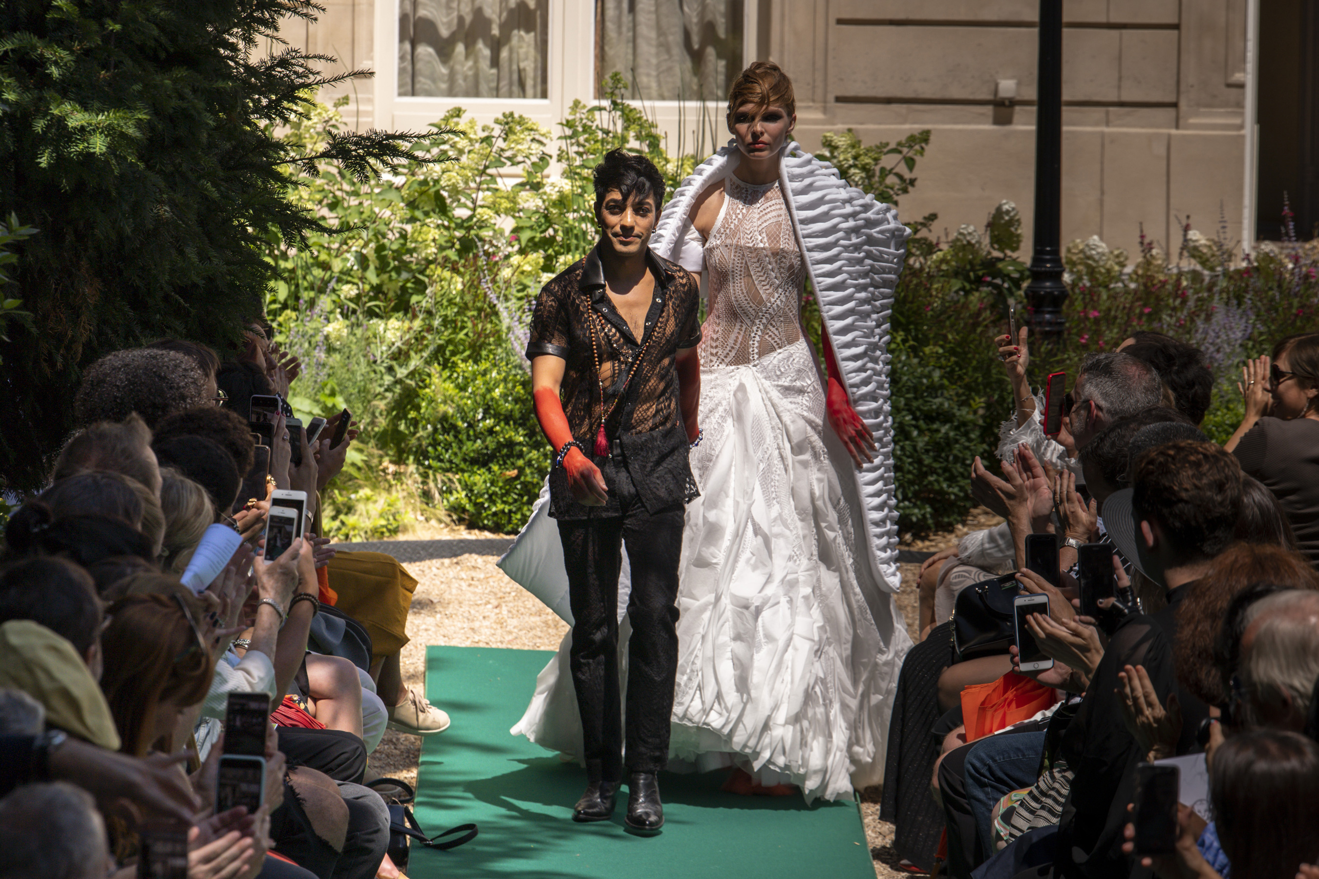 Antonio Ortega Couture Fall 2019 Fashion Show Atmosphere