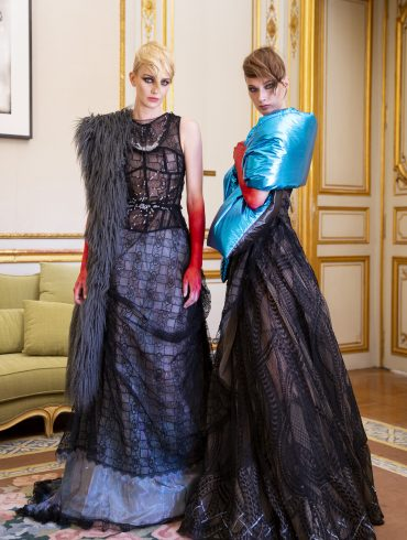 Antonio Ortega Couture Fall 2019 Fashion Show Backstage