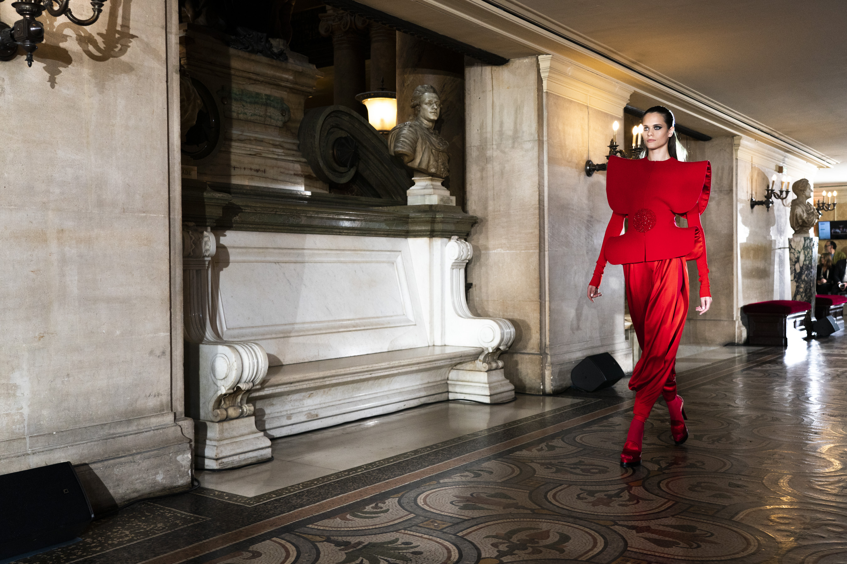 Stephane Rolland Couture Fall 2019 Fashion Show Atmosphere