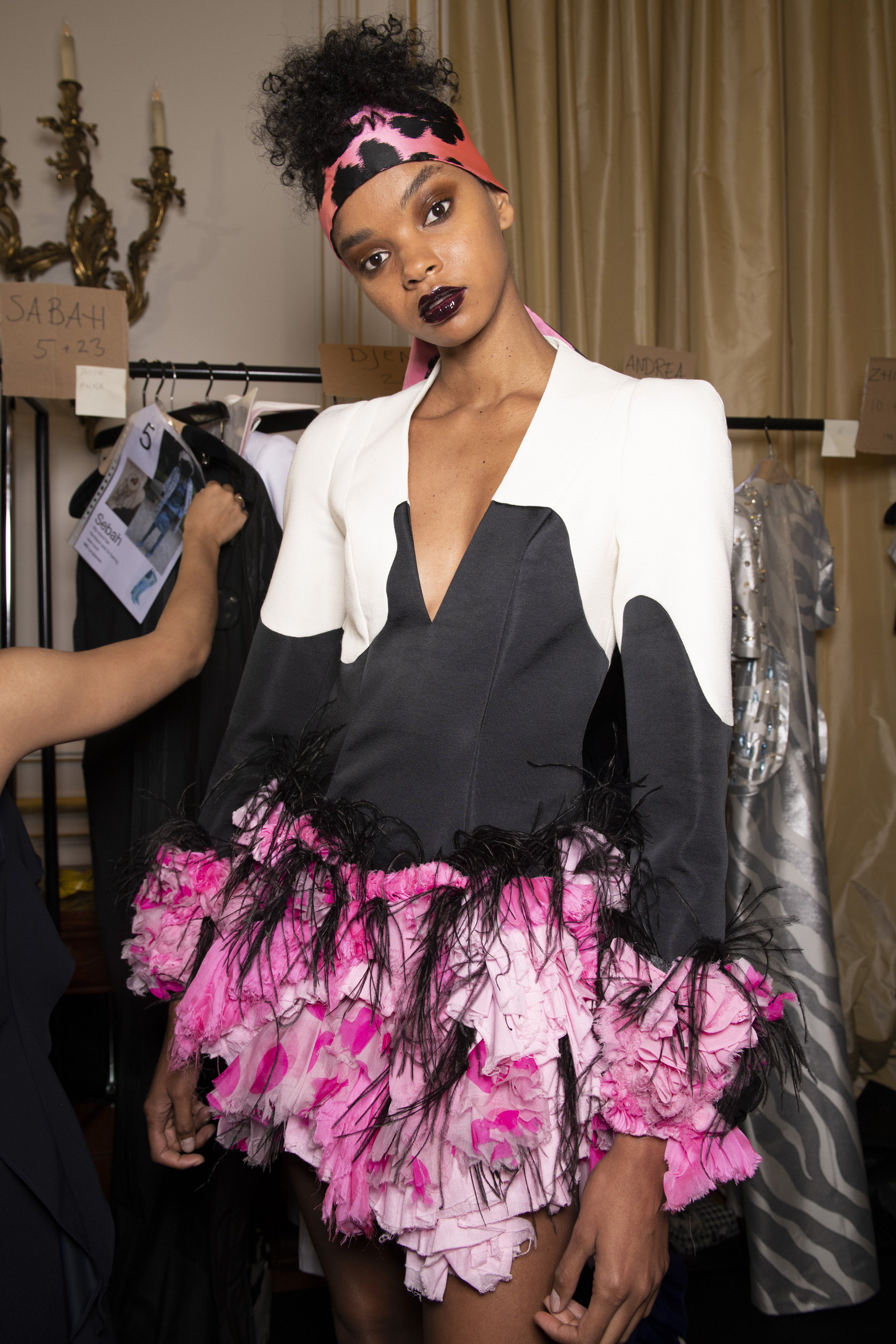 Rvdk Ronald Van Der Kemp Couture Fall 2019 Fashion Show Backstage