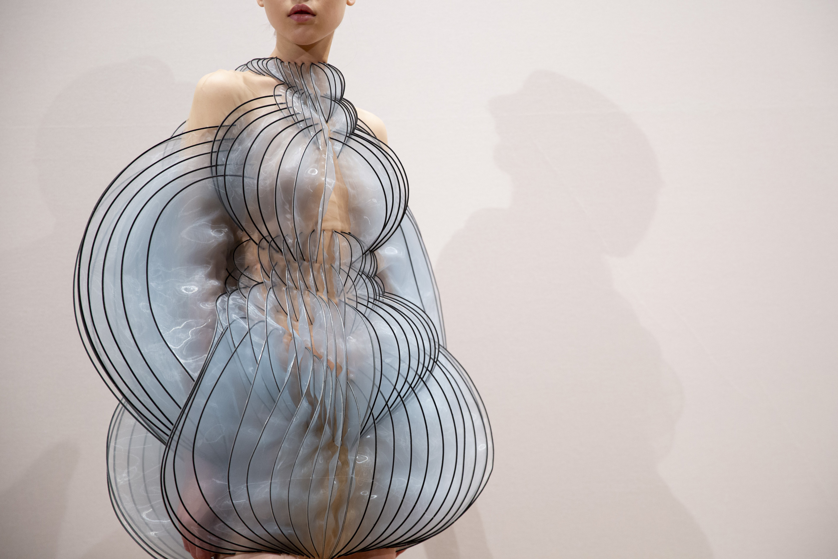 Iris Van Herpen Couture Fall 2019 Fashion Show Backstage