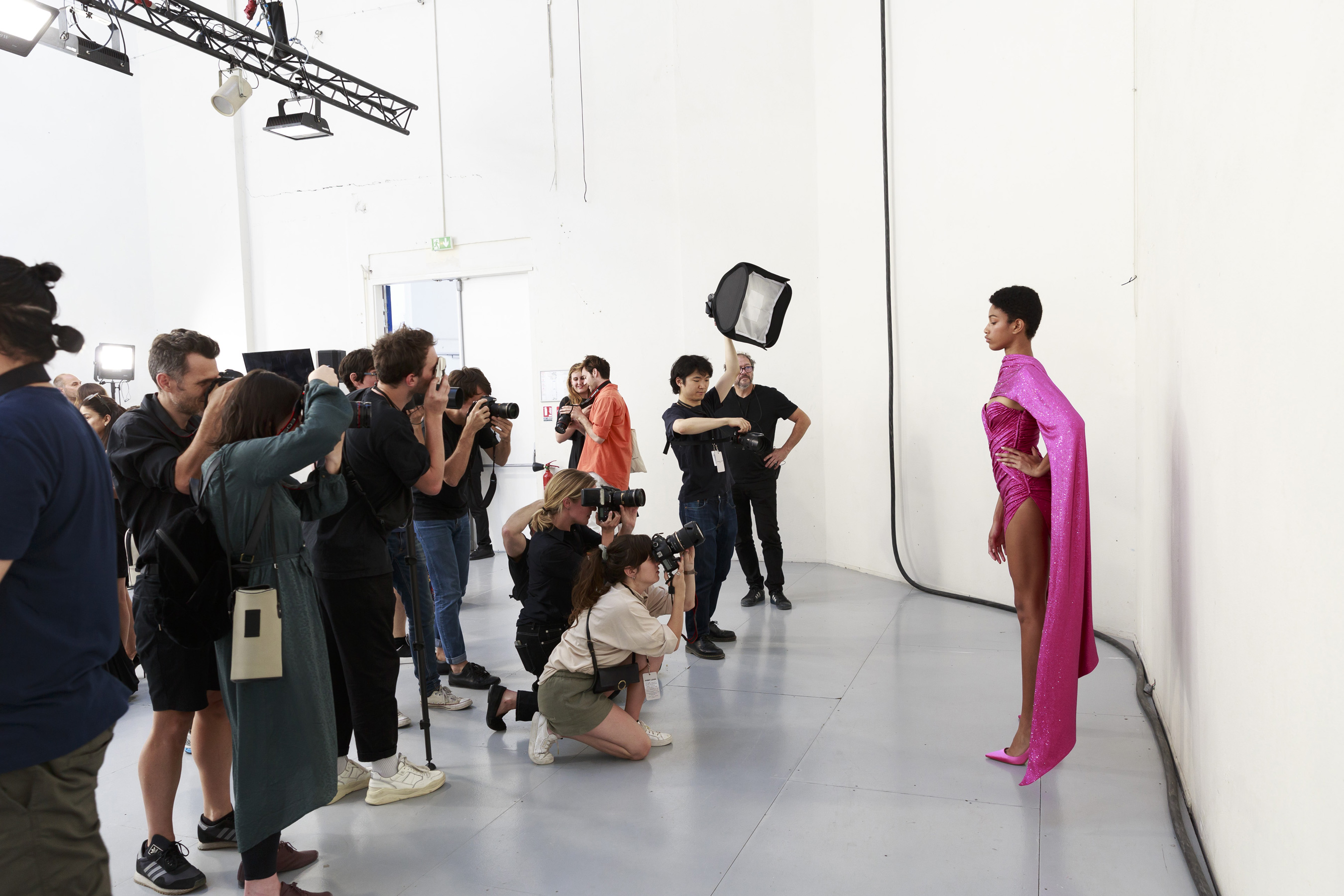 Alexandre Vauthier Couture Fall 2019 Fashion Show Backstage