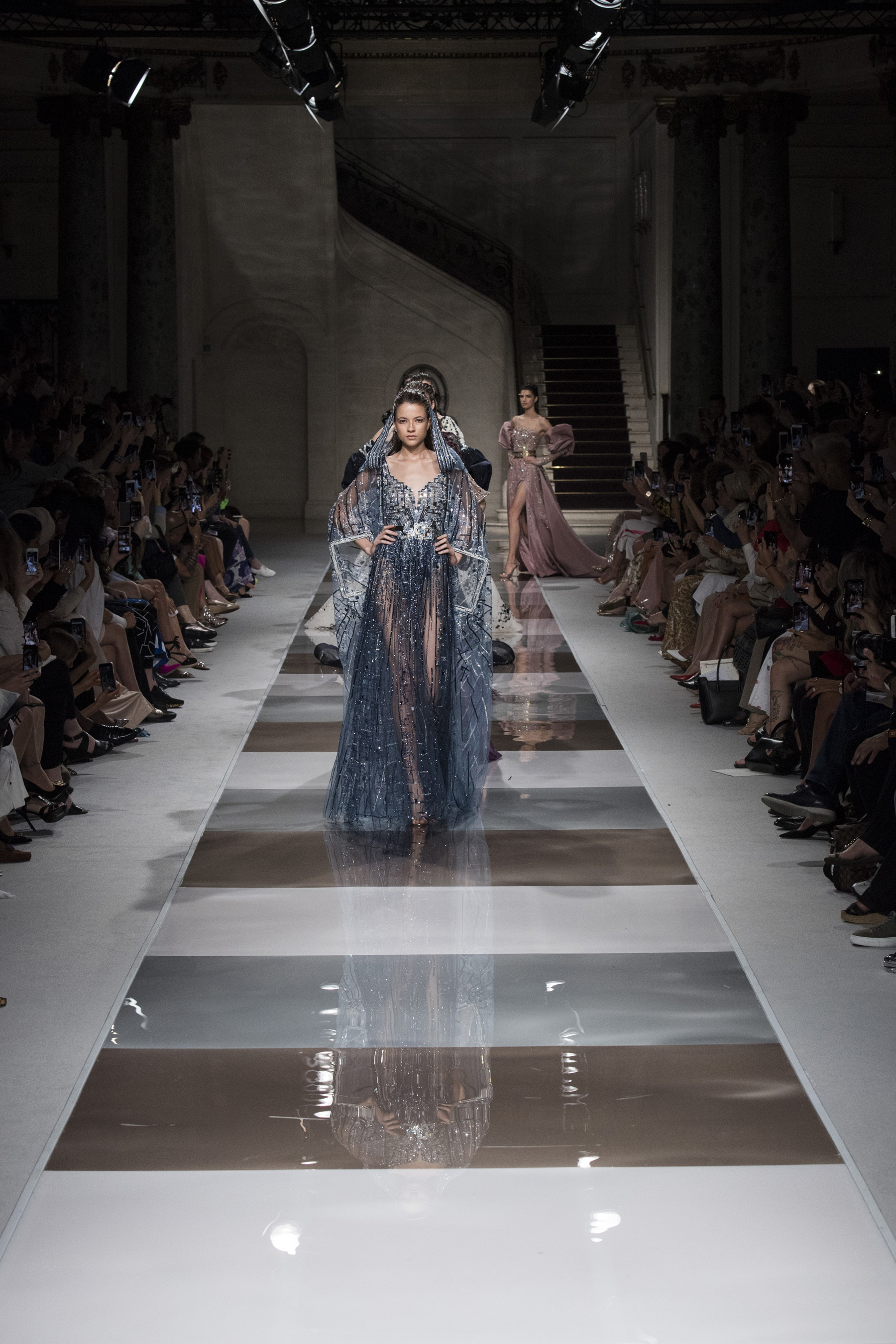 Ziad Nakad Couture Fall 2019 Fashion Show Atmosphere