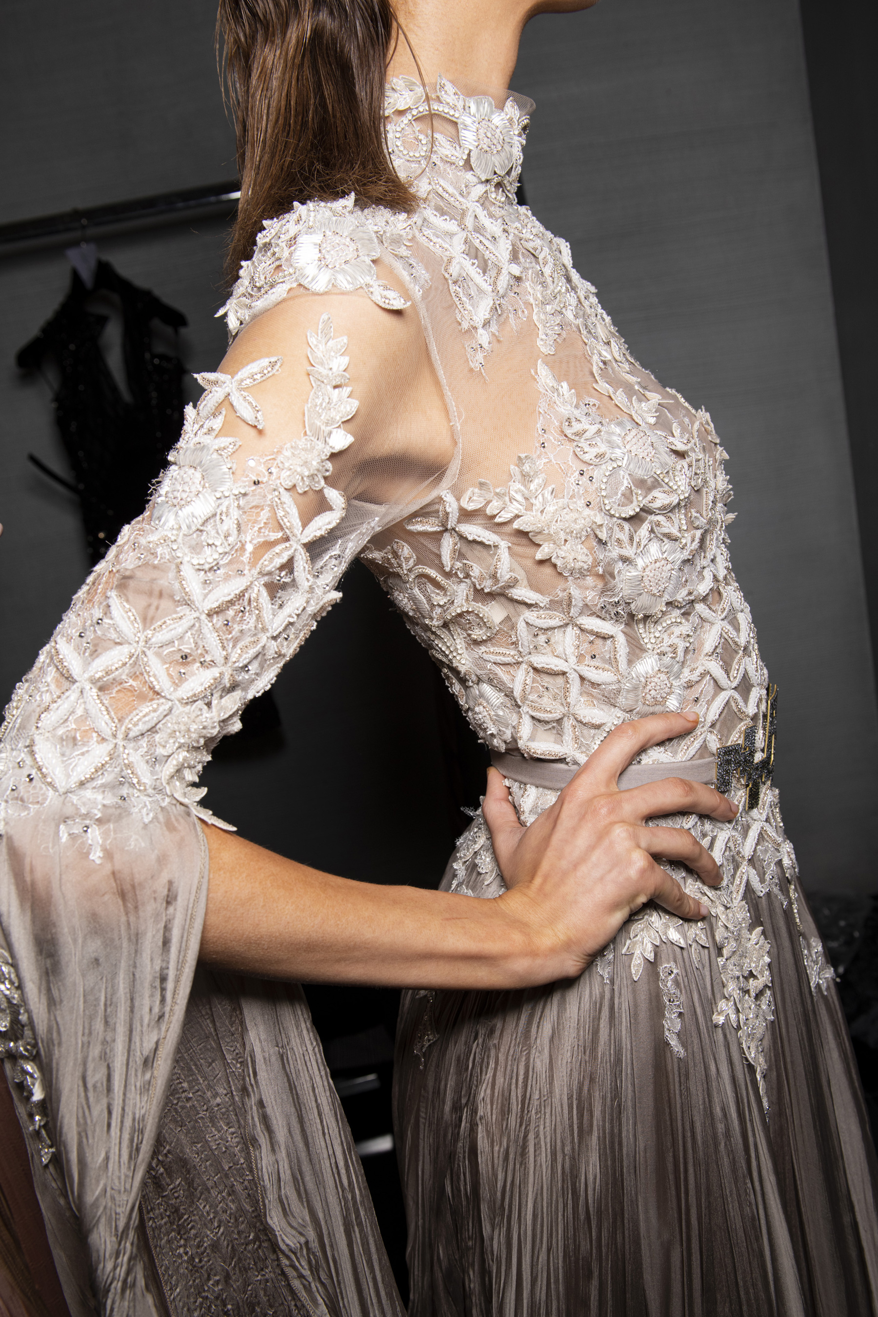 Ziad Nakad Couture Fall 2019 Fashion Show Backstage