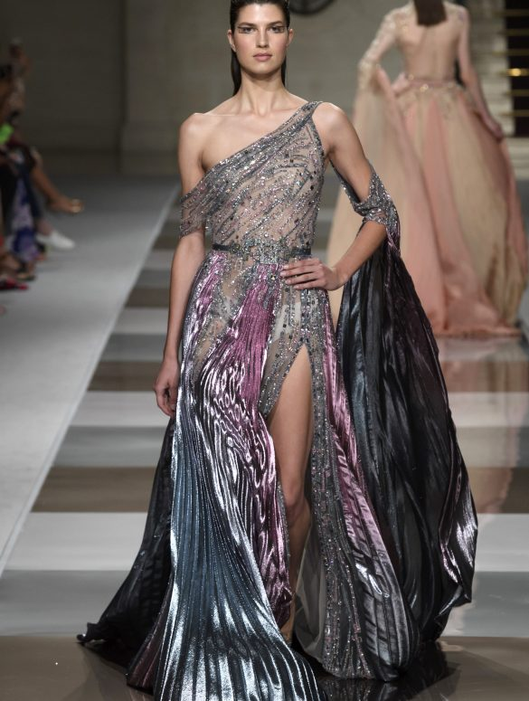 Ziad Nakad Couture Fall 2019 Fashion Show