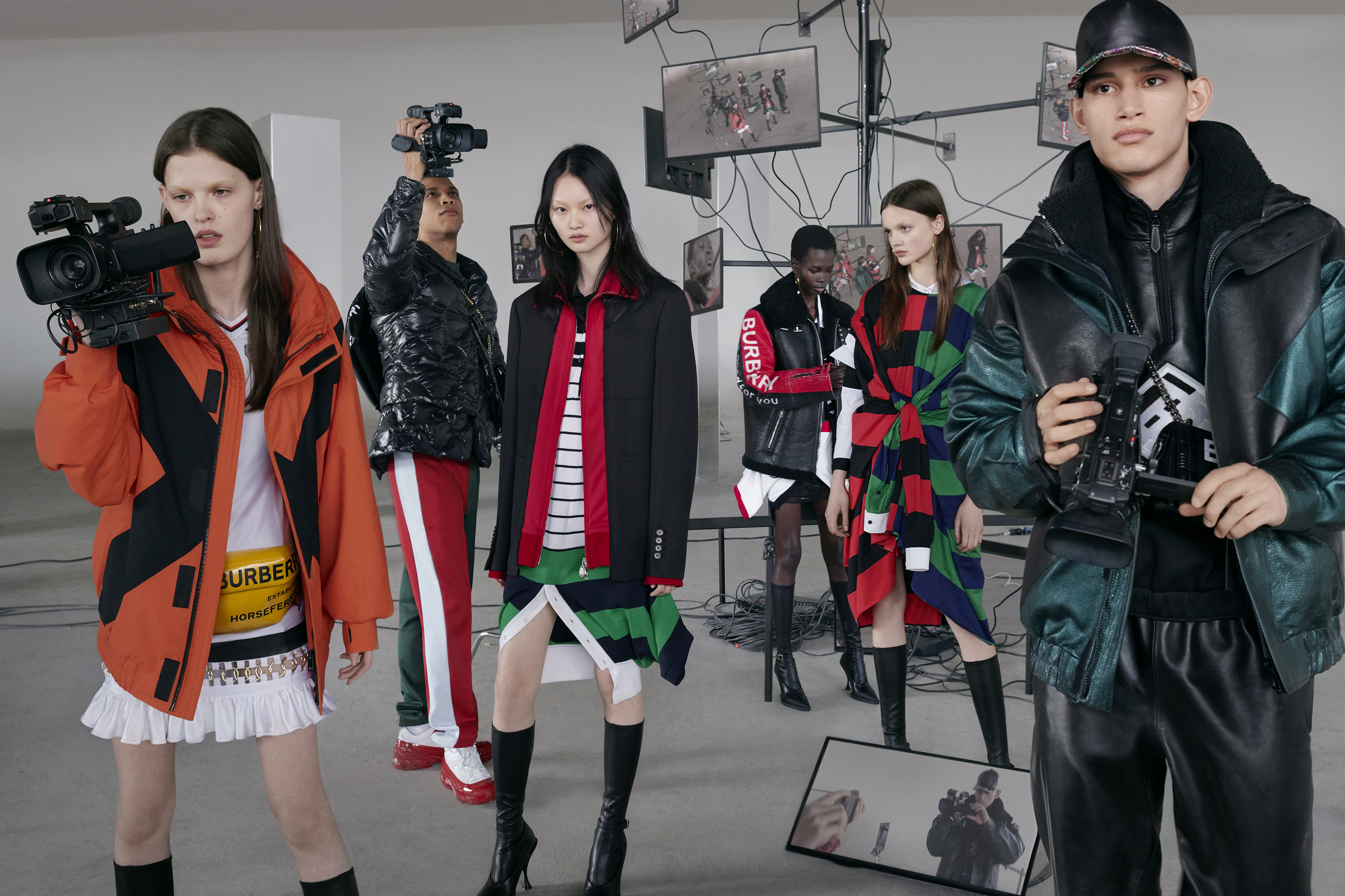 Burberry Fall 2019 Ad Campaign by Nick Knight