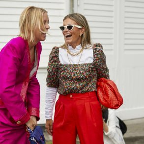 Copenhagen Fashion Week Street Style Spring 2020 Day 1