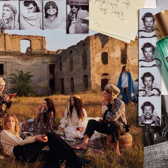 Gucci Mémoire d'une Odeur Fragrance Campaign with Harry Styles