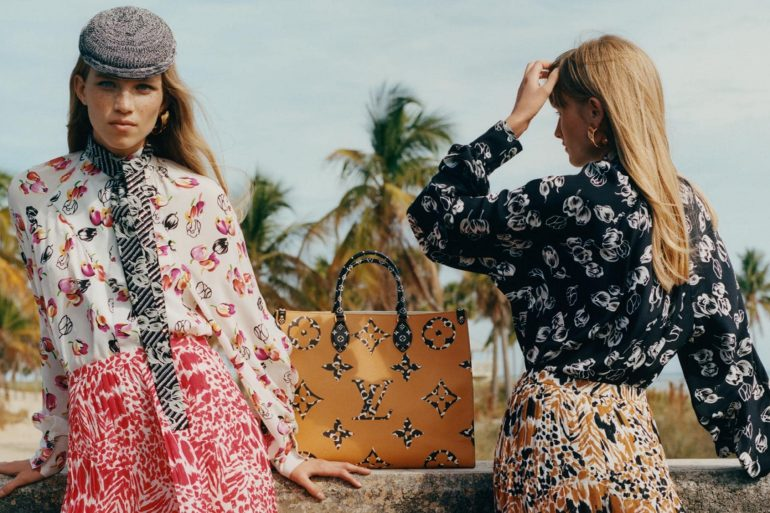 Louis Vuitton Monogram Giant Fall 2019 Ad Campaign by Stef Mitchell