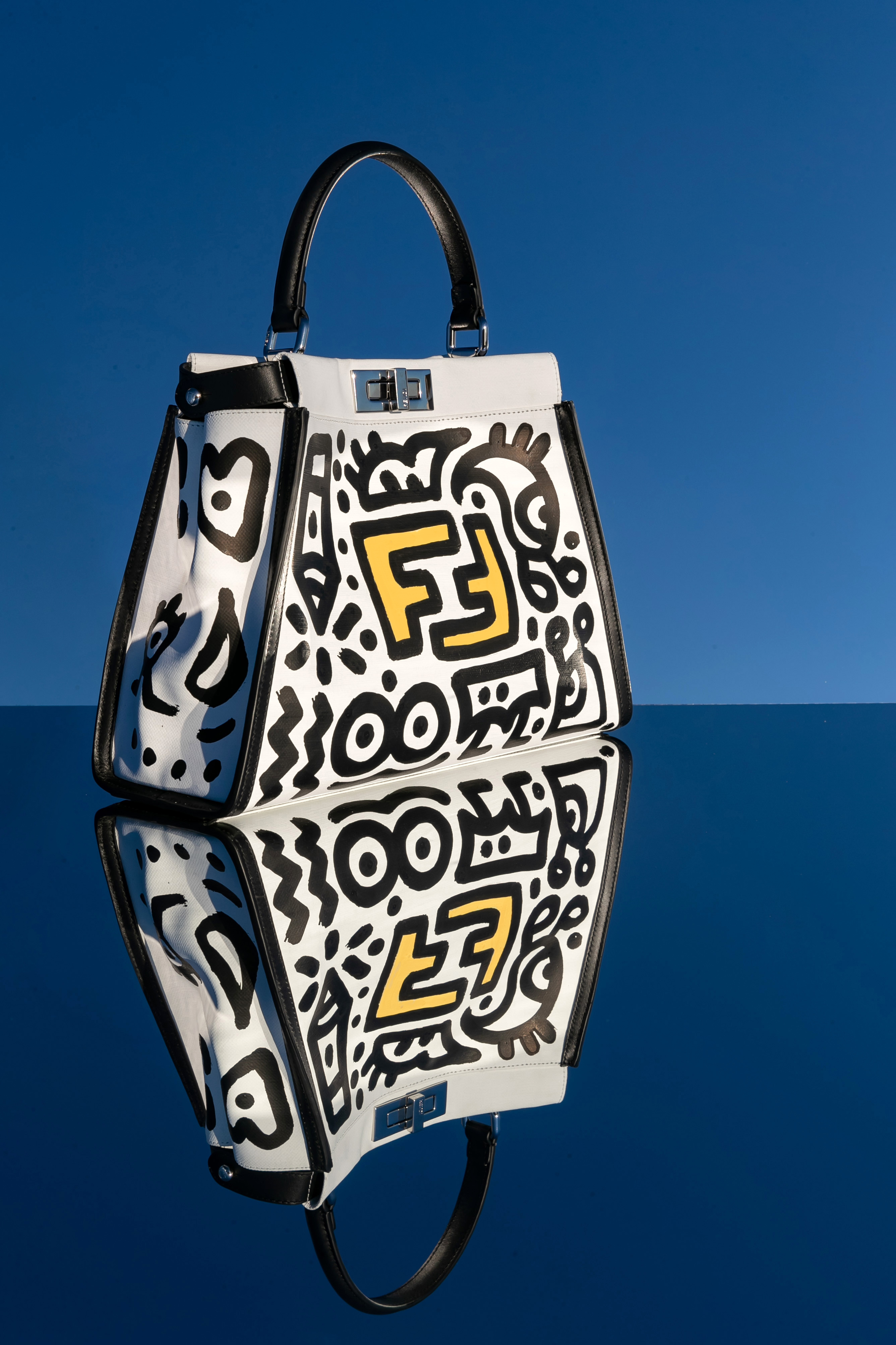 Mr. Doodle Takes Over Fendi Corporate Rooftop