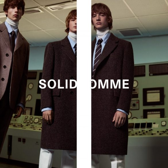 Solid Homme Fall 2019 Ad Campaign by Mel Bles