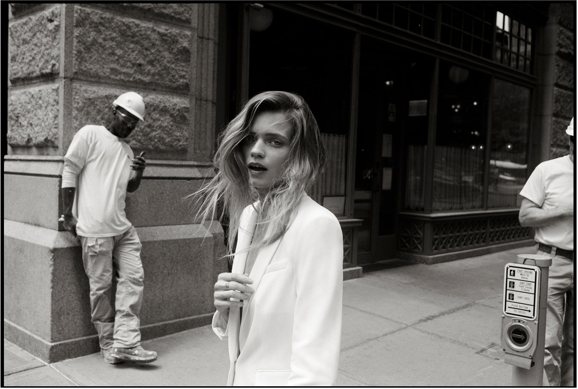 rag & bone Fall 2019 Photo Project with Abbey Lee