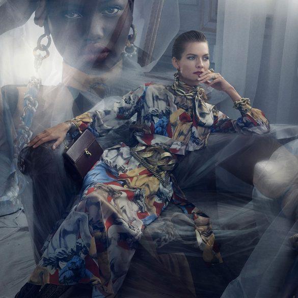 Zara Fall 2019 Ad Campaign by Fabien Baron & Steven Meisel