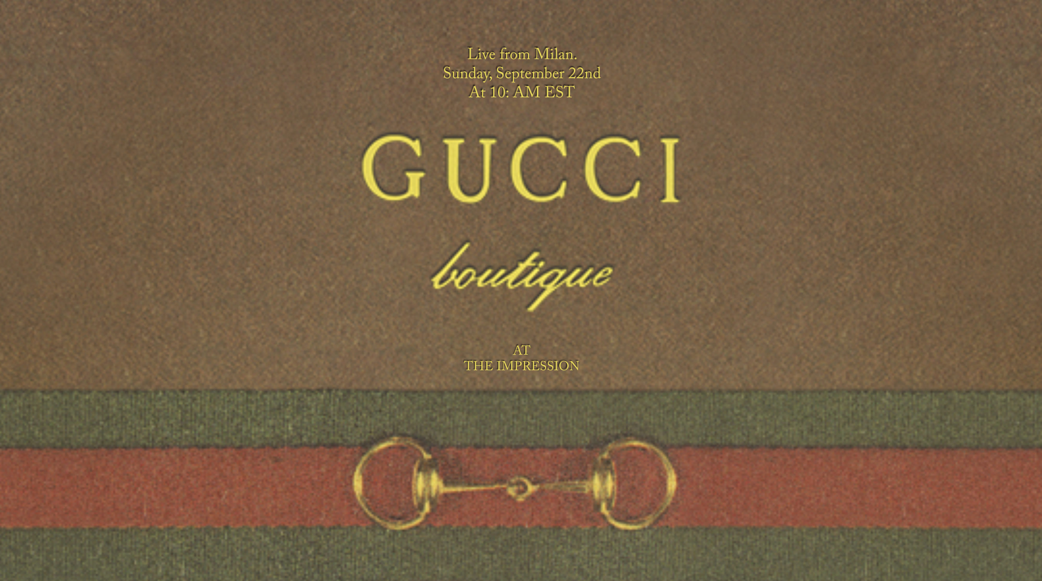 Watch Gucci Spring 2020 Runway Show Live from Milan
