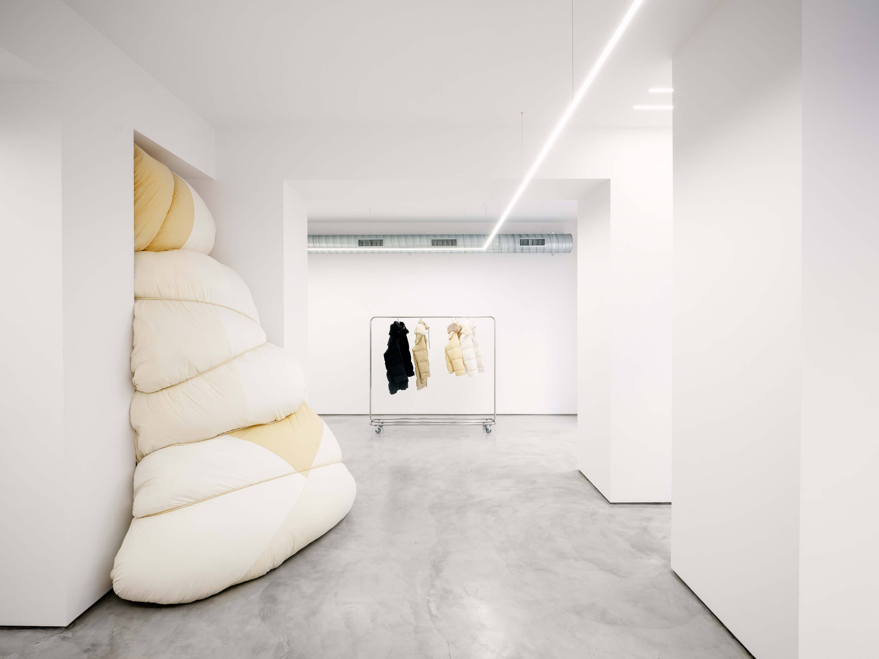 Jil Sander Launches Milan's Via Sant'Andrea Location As An Installation Space