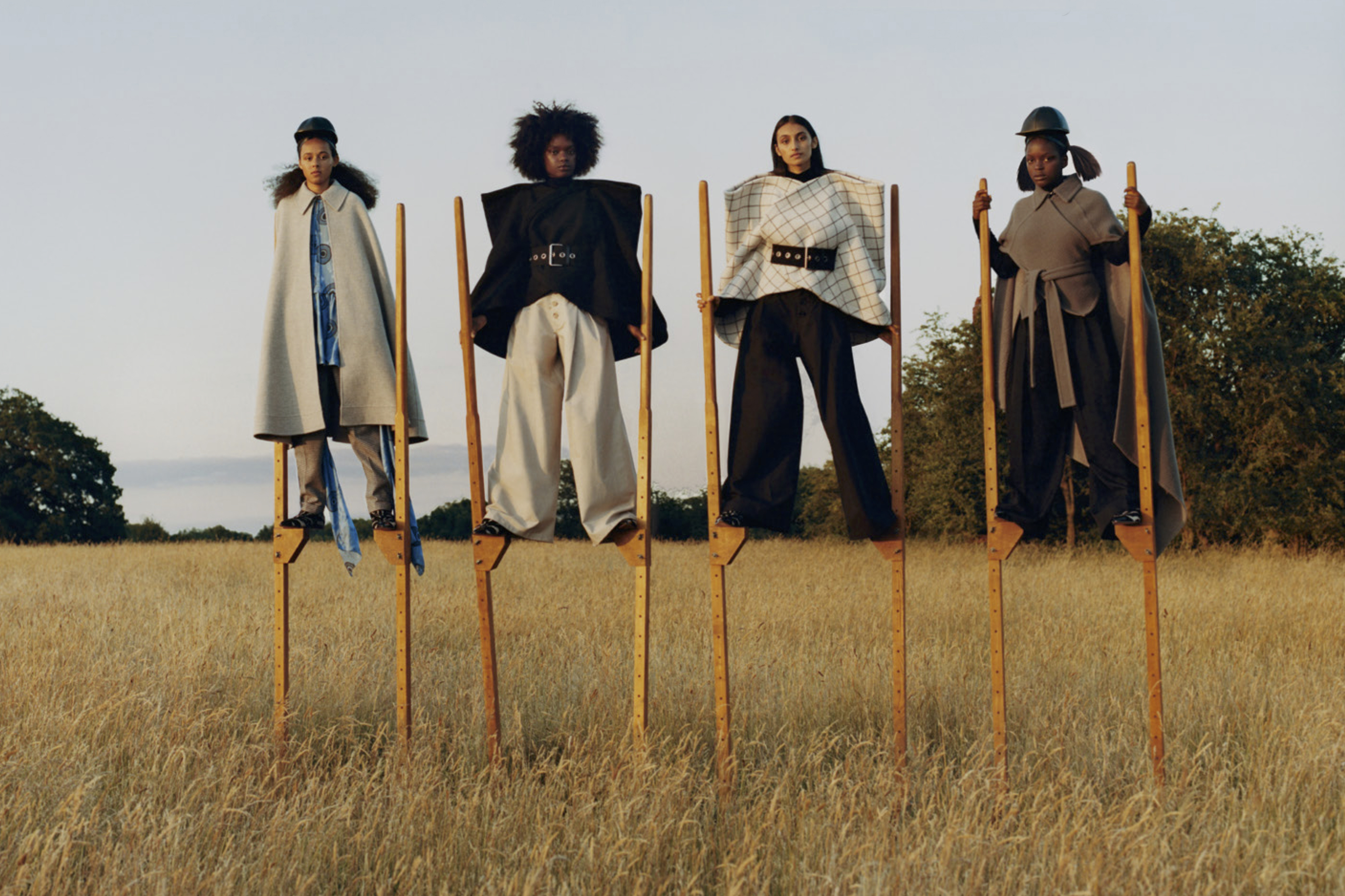 JW Anderson Fall 2019 Ad Campaign by M/M Paris & Tyler Mitchell