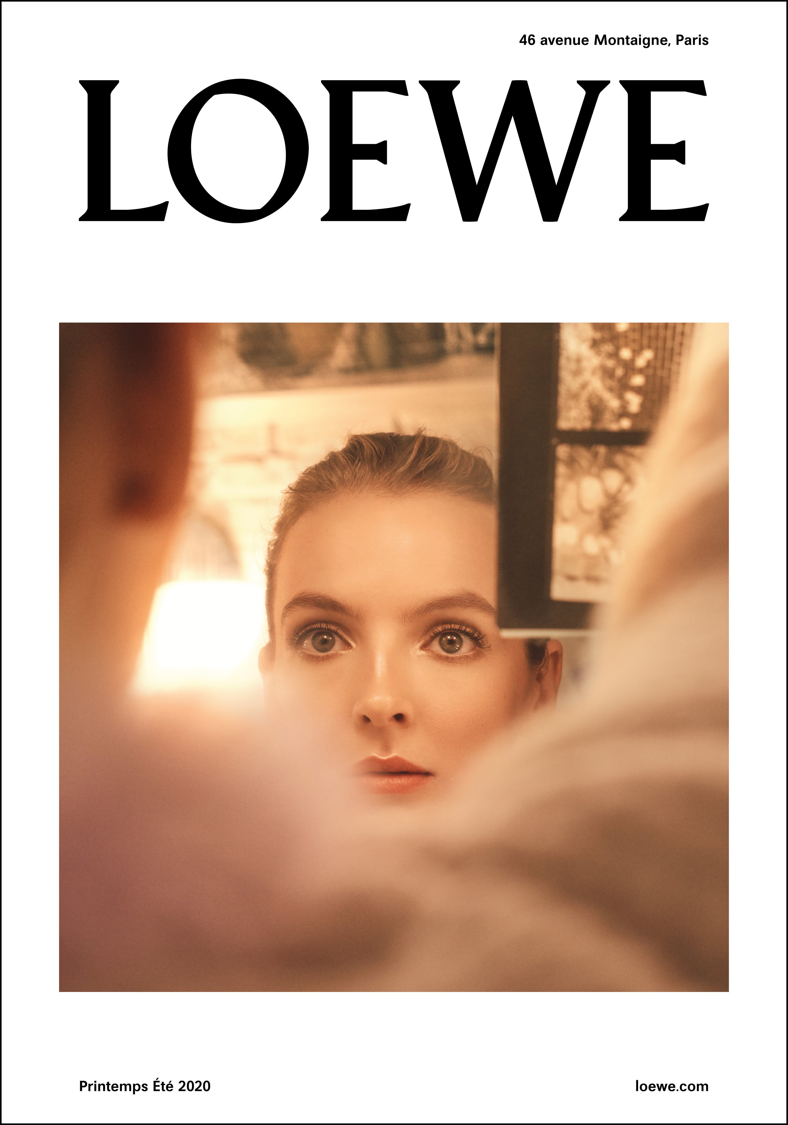 Loewe Spring Summer 2020 Womenswear Campaign featuring Jodie Comer