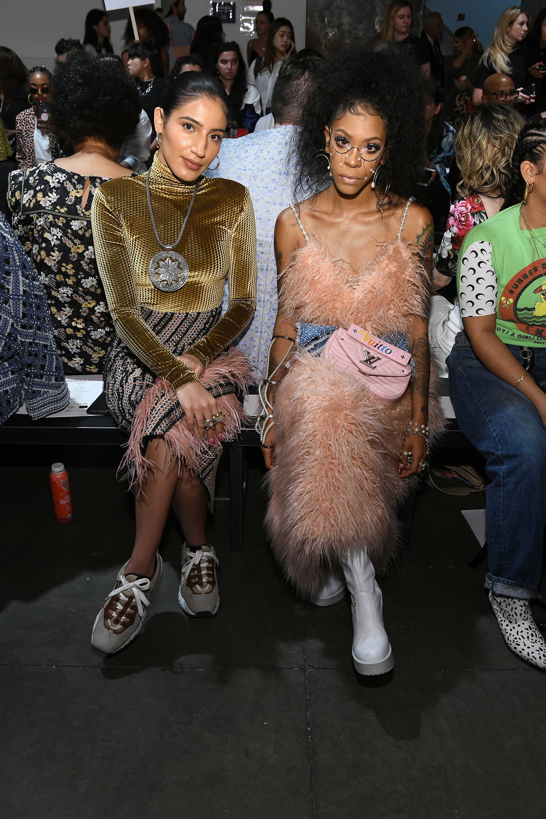 Laurence & Chico Spring 2020 Fashion Show Front Row