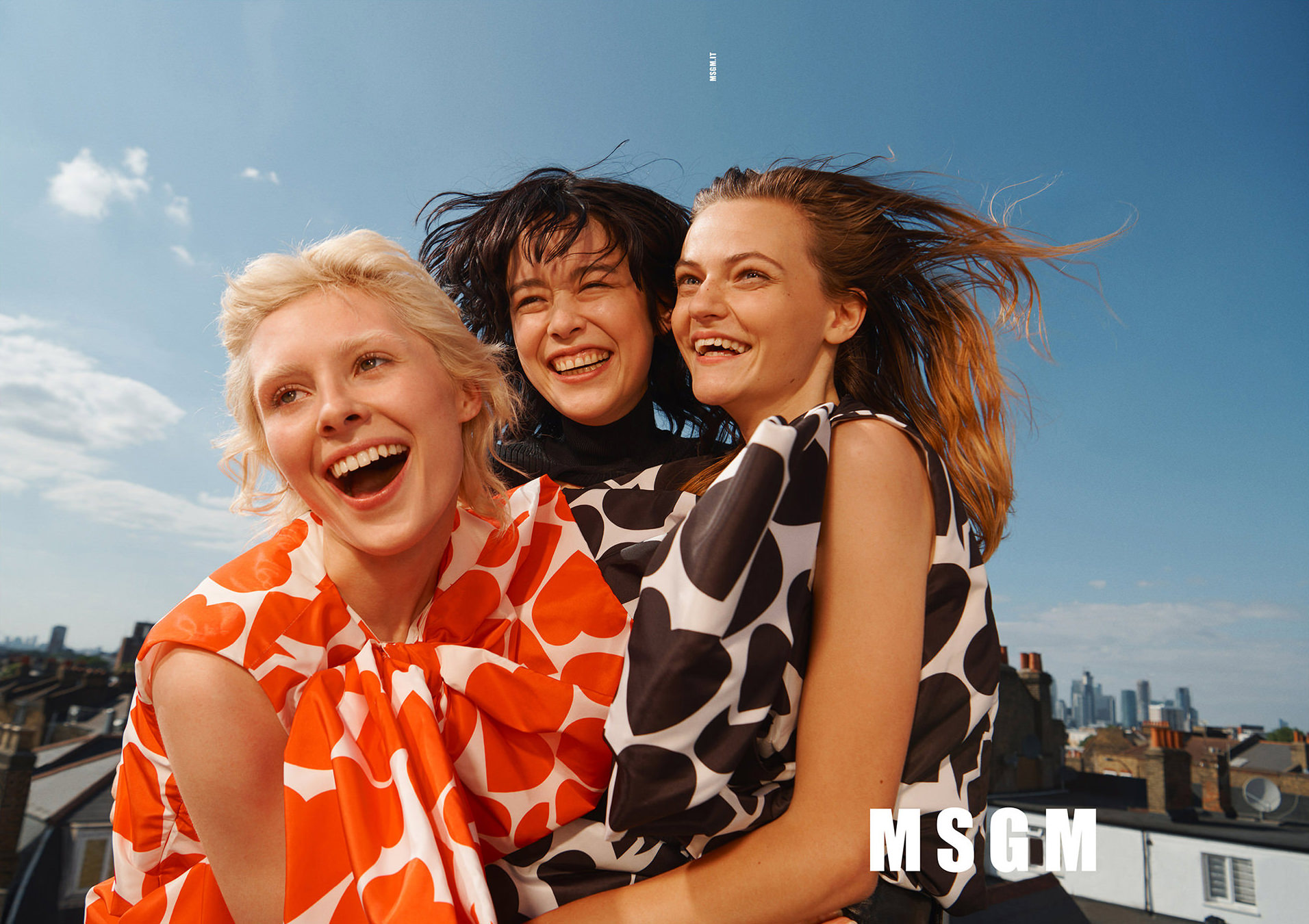 MSGM Fall 2019 Ad Campaign by Elaine Constantine
