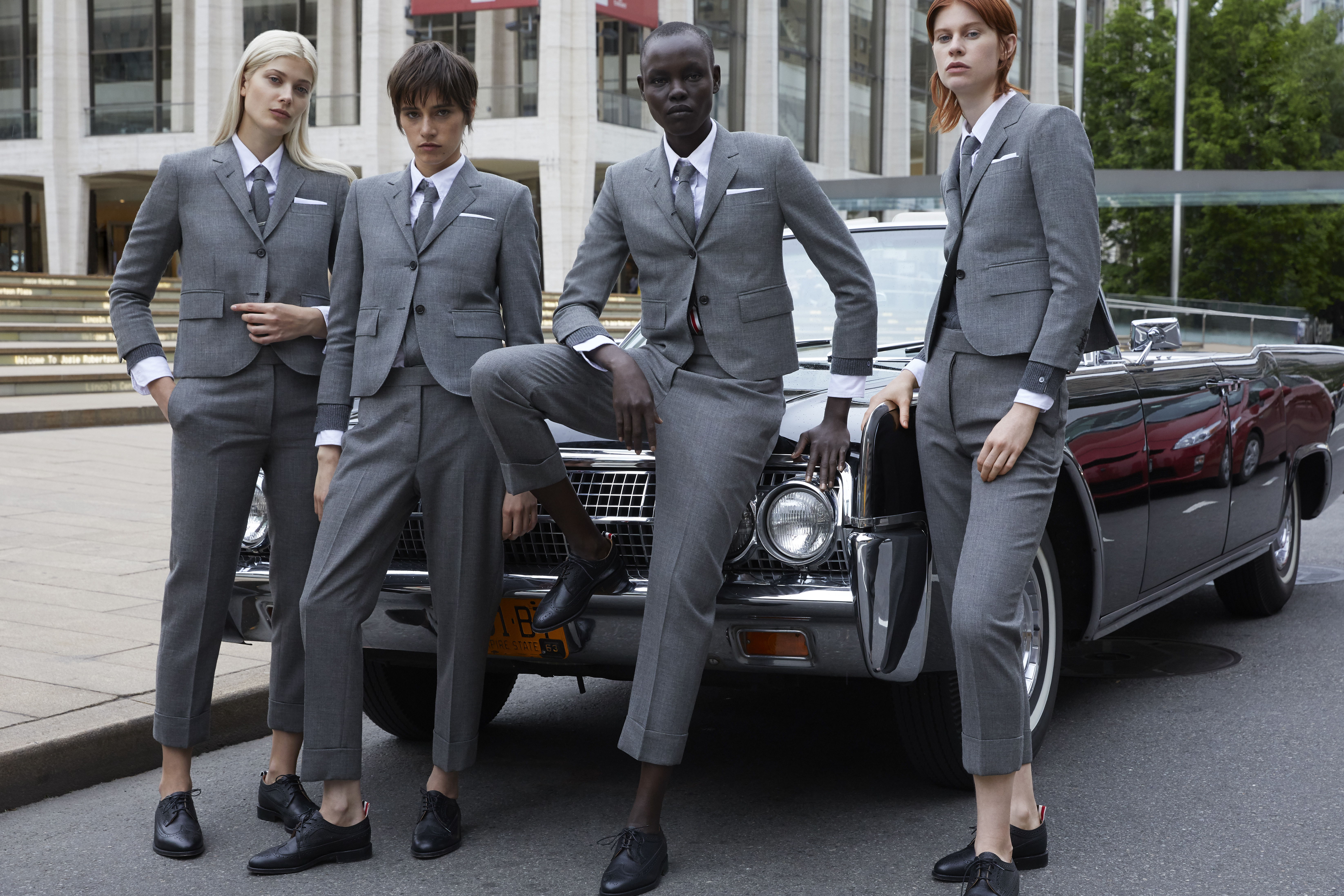 Thom Browne Fall 2019 Ad Campaign by Thomas Lohr
