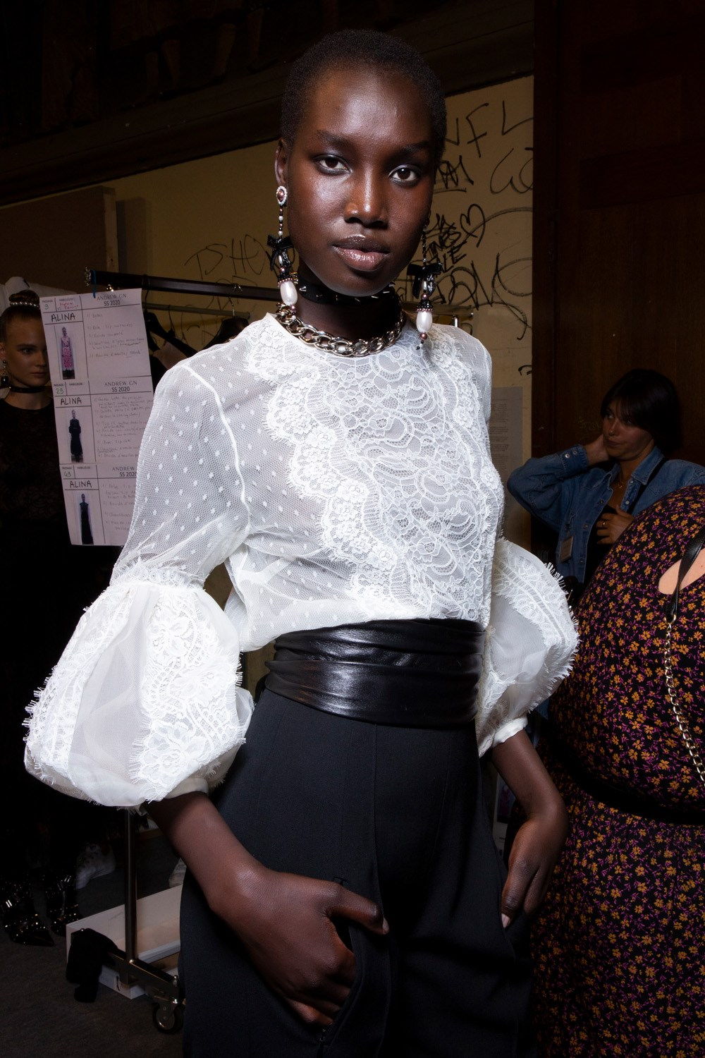 Andrew Gn Spring 2020 Fashion Show Backstage