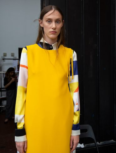Arthur Arbesser Spring 2020 Fashion Show Backstage