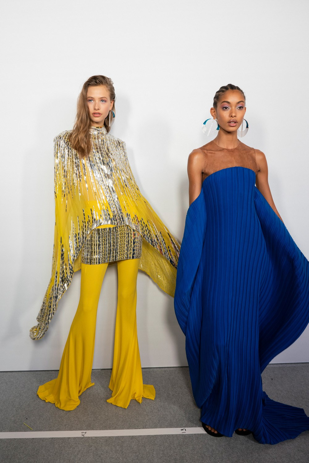 Balmain Spring 2020 Fashion Show Backstage