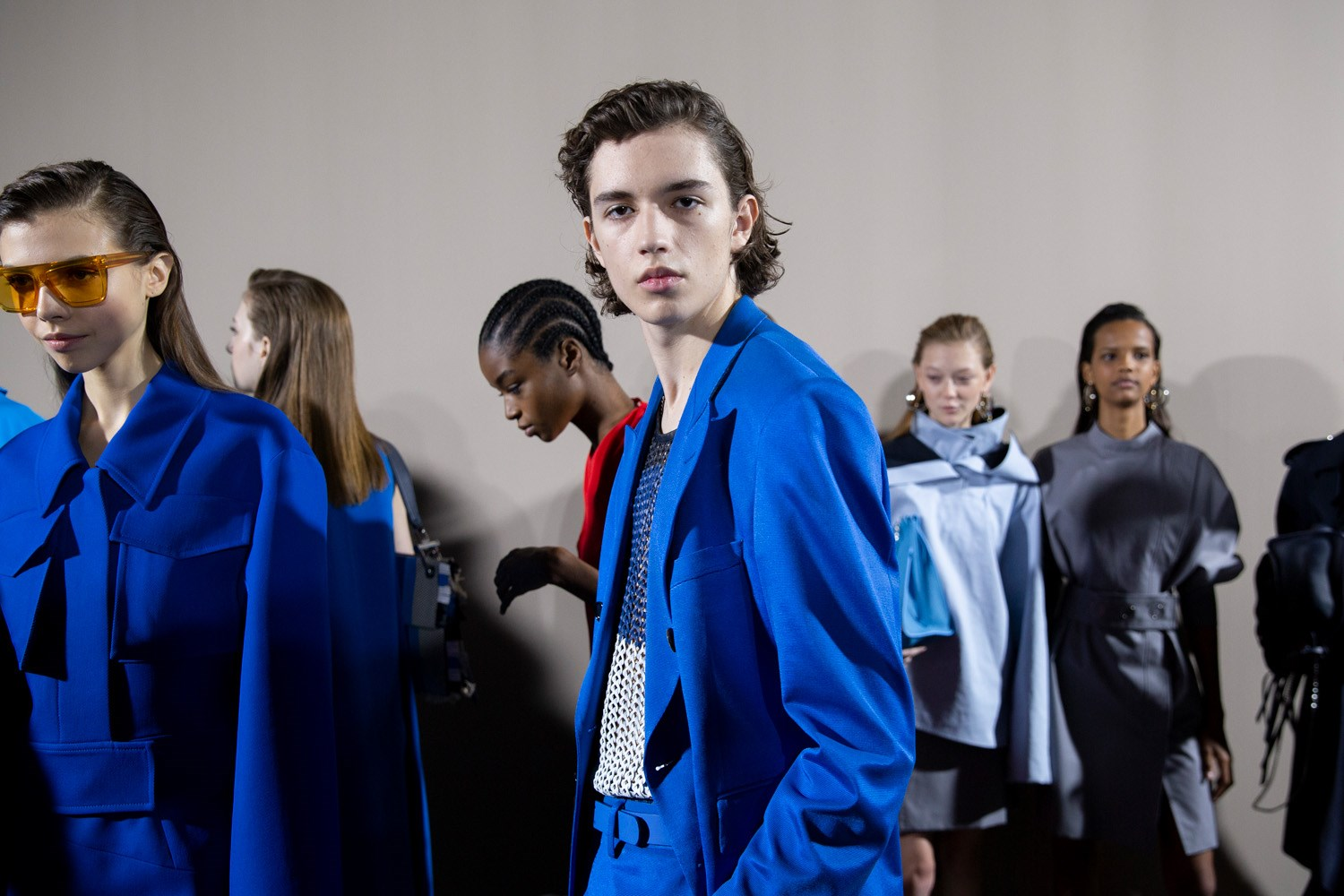 Boss Spring 2020 Fashion Show Backstage