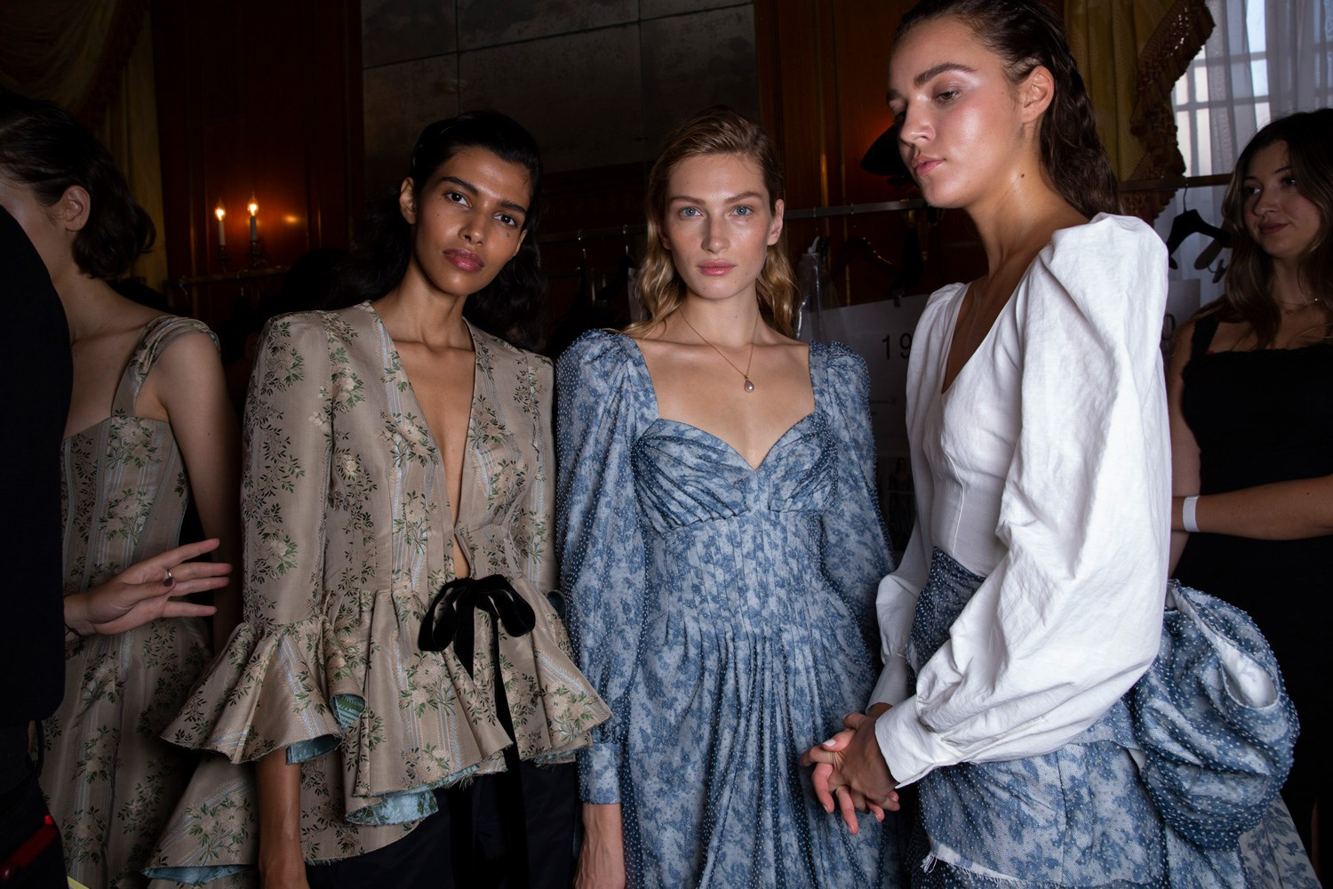 Brock Collection Spring 2020 Fashion Show Backstage