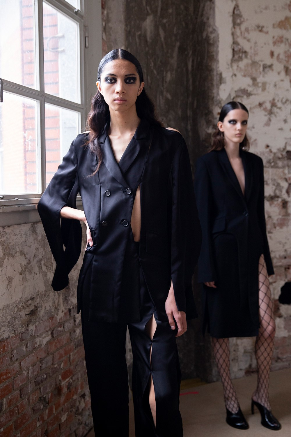 Ann Demeulemeester Spring 2020 Fashion Show Backstage