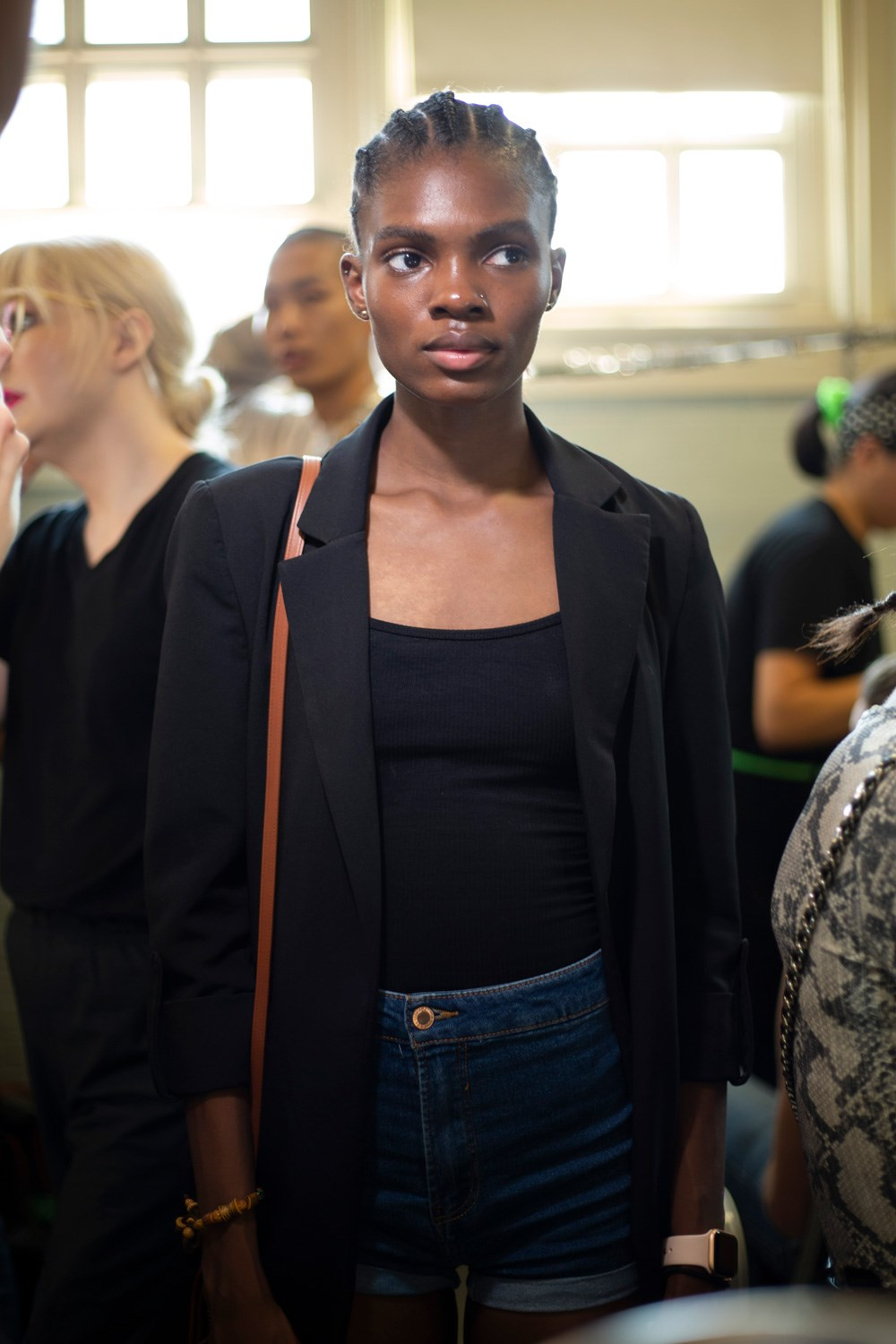 Dion Lee Spring 2020 Fashion Show Backstage