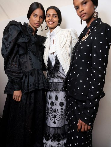 Erdem Spring 2020 Fashion Show Backstage