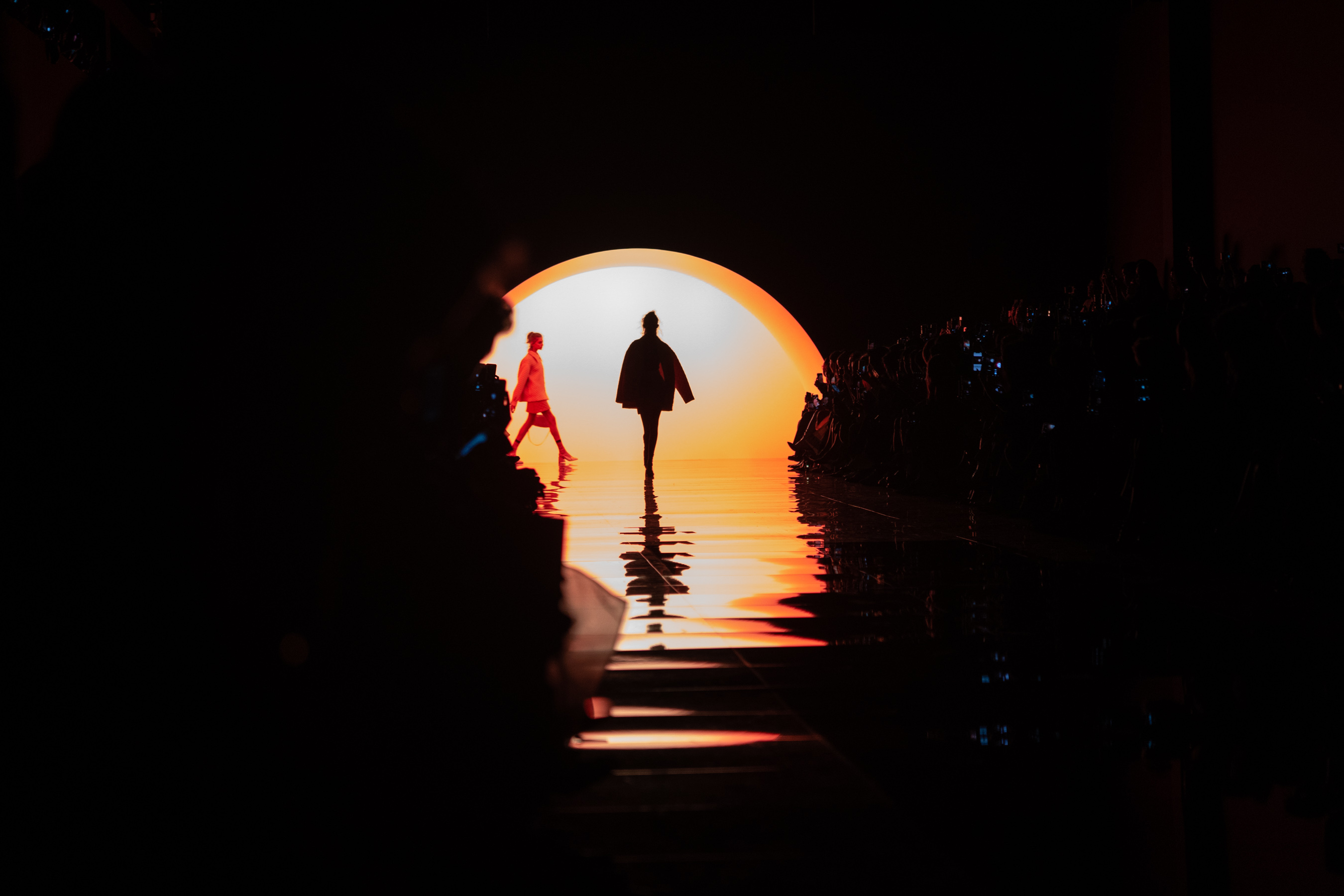 Fendi Spring 2020 Fashion Show Atmosphere