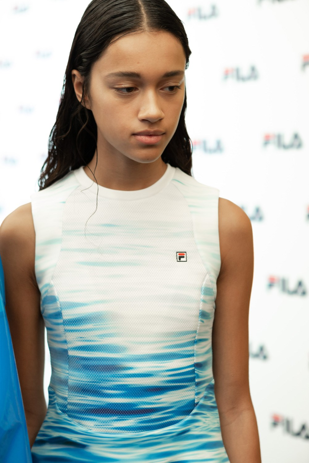 Fila Spring 2020 Fashion Show Backstage