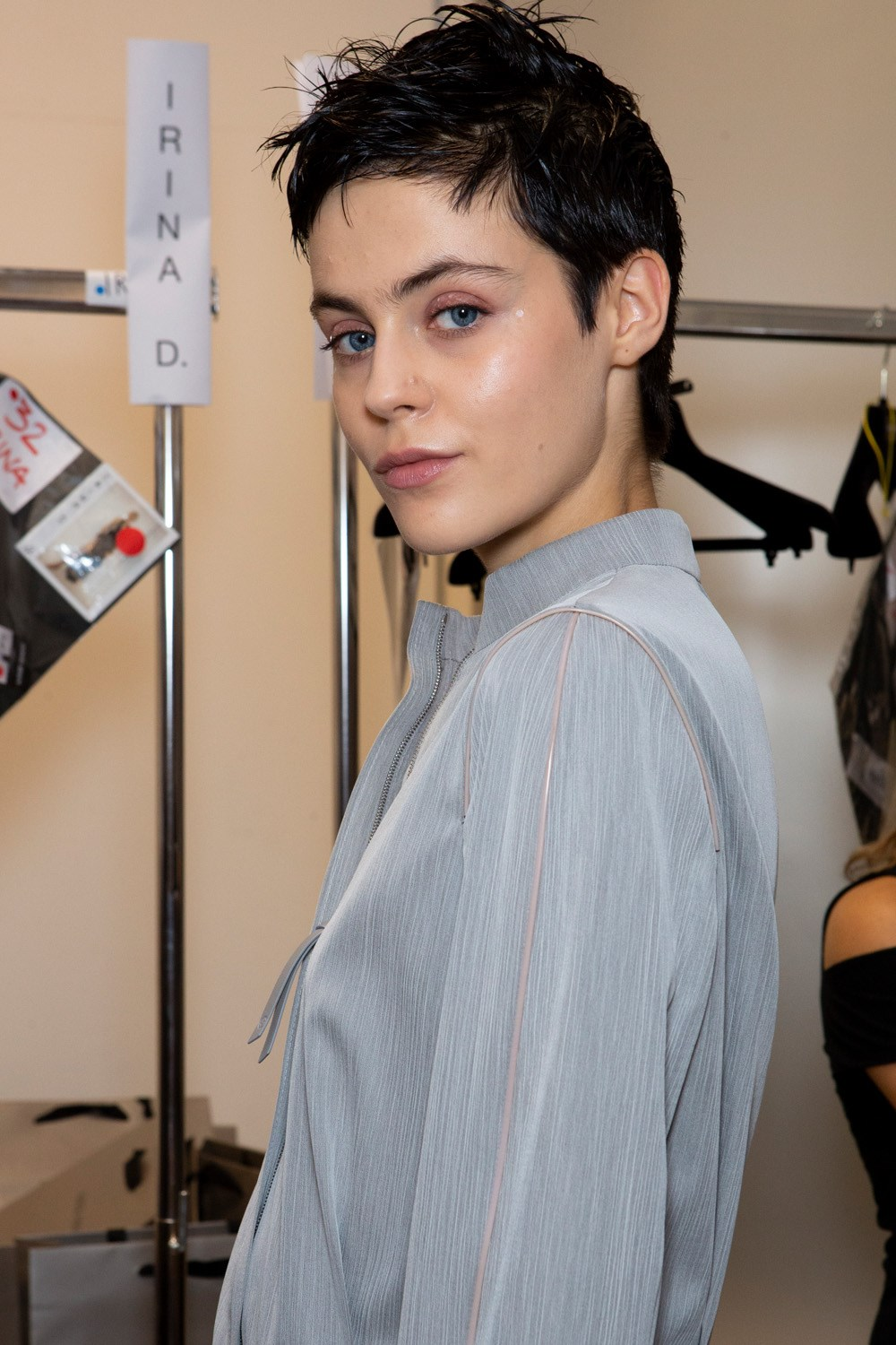 Giorgio Armani Spring 2020 Fashion Show Backstage