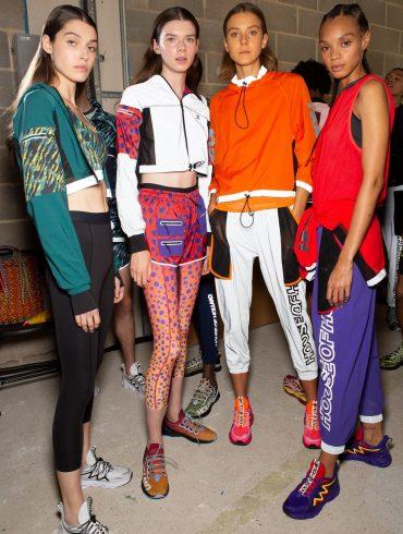 House Of Holland Spring 2020 Fashion Show Backstage