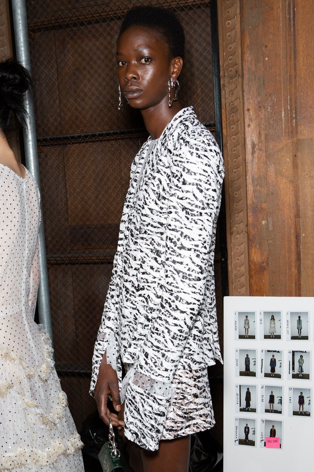 Anais Jourden Spring 2020 Fashion Show Backstage
