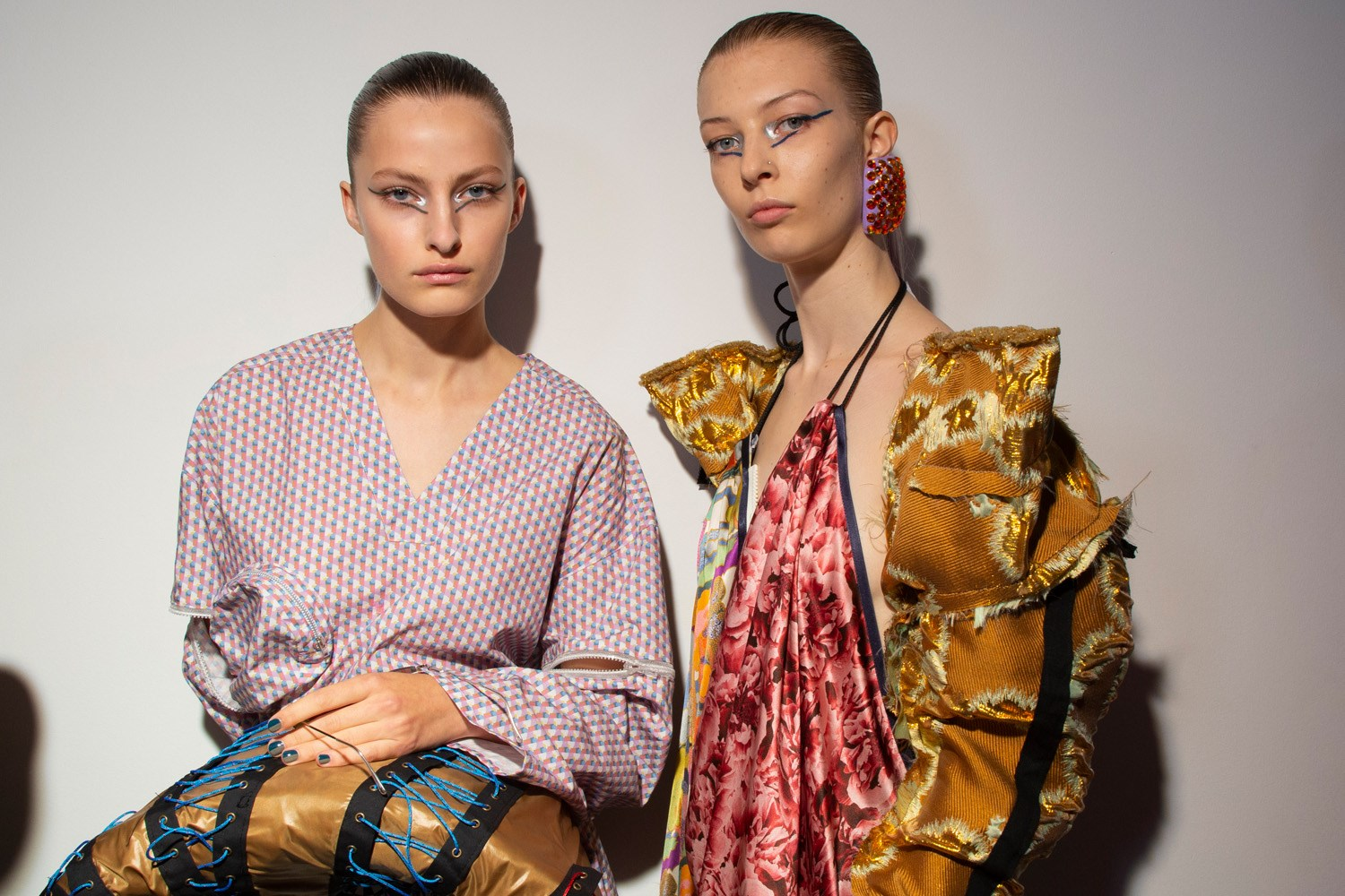 Matty Bowan Spring 2020 Fashion Show Backstage